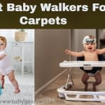 Best Baby Walkers For Carpet - [With Big Rubber Wheels]